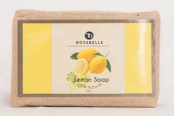 Handmade Soap - Lemon - Rossbelle