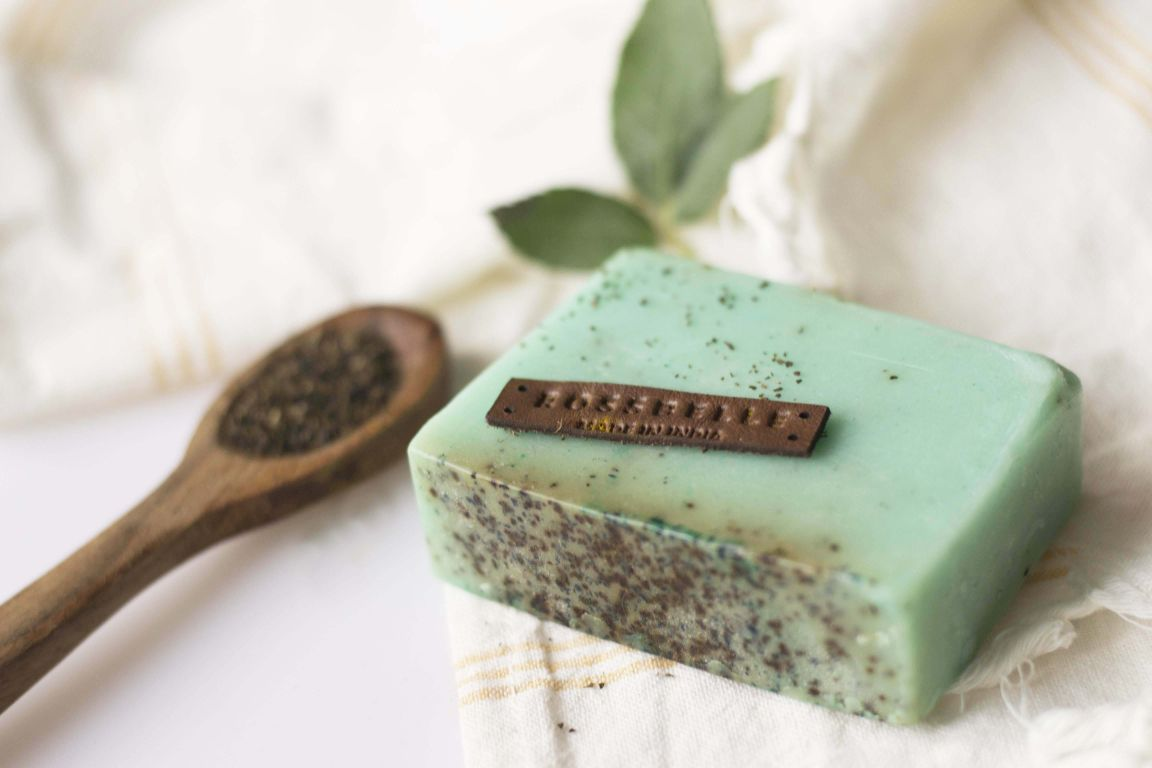 Green Tea Soap - Rossbelle