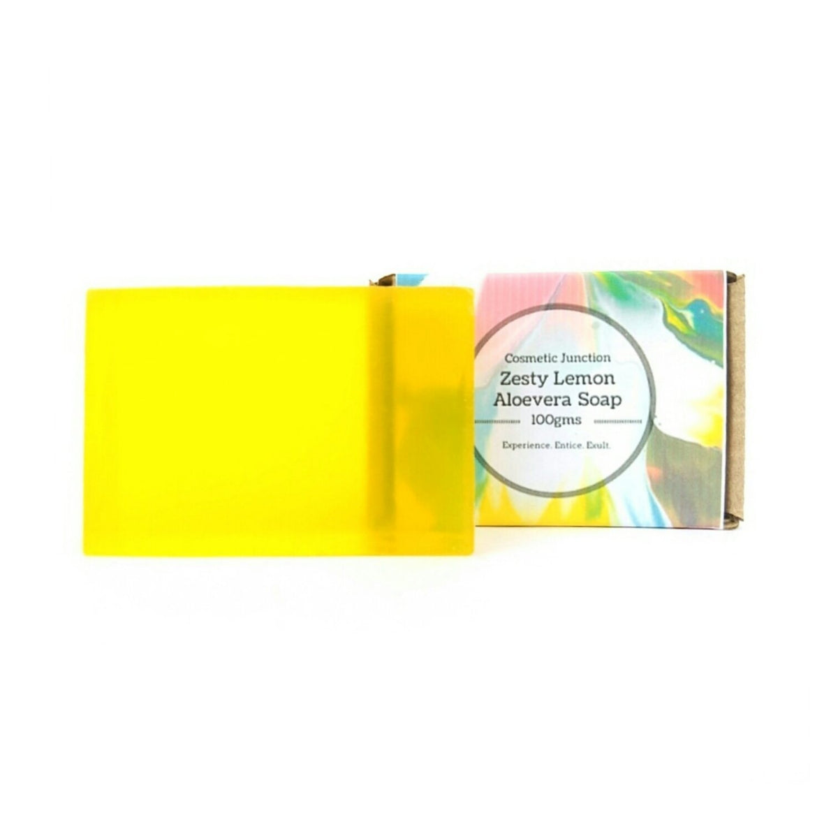 Zesty Lemon Aloevera Soap - Rossbelle