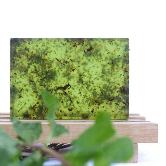 Cooling Cucumber Mint Aloevera Soap - Rossbelle