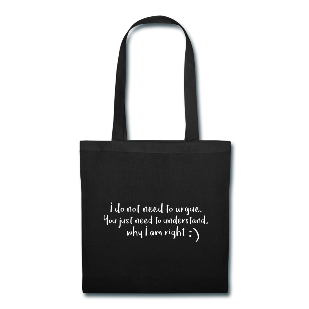 Tote Bag - Don't Argue - Rossbelle