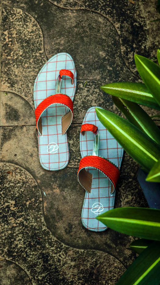Aanandi - Sustainable Eco-Friendly Upcycled Footwear - Rossbelle