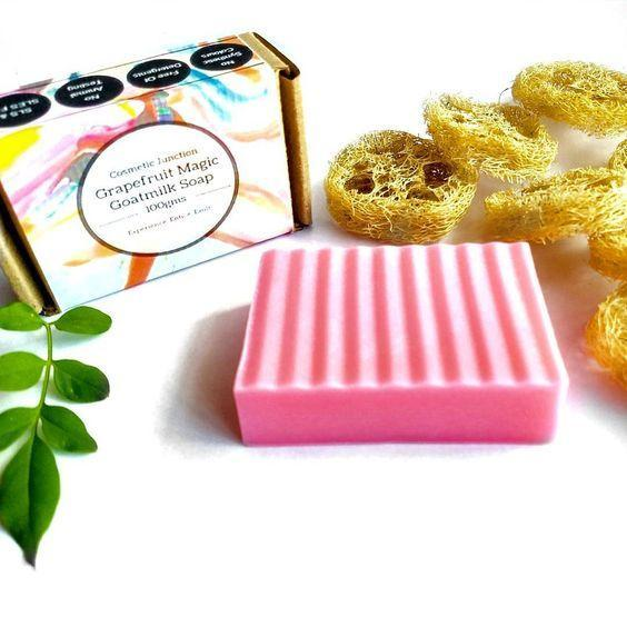 Grapefruit magic, Goatmilk & Vitamin-E Soap - Rossbelle