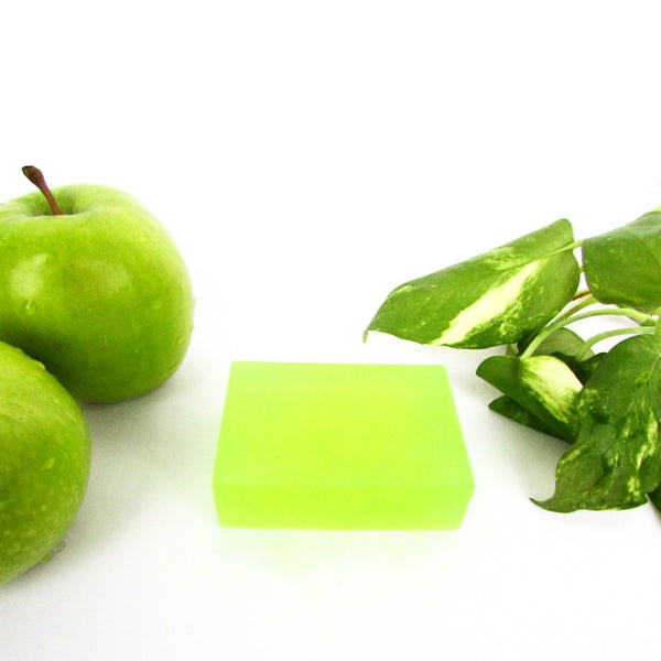 Refreshing Green Apple Aloevera Soap - Rossbelle
