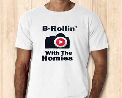 Men's T-Shirt | B-Rollin' With The Homies