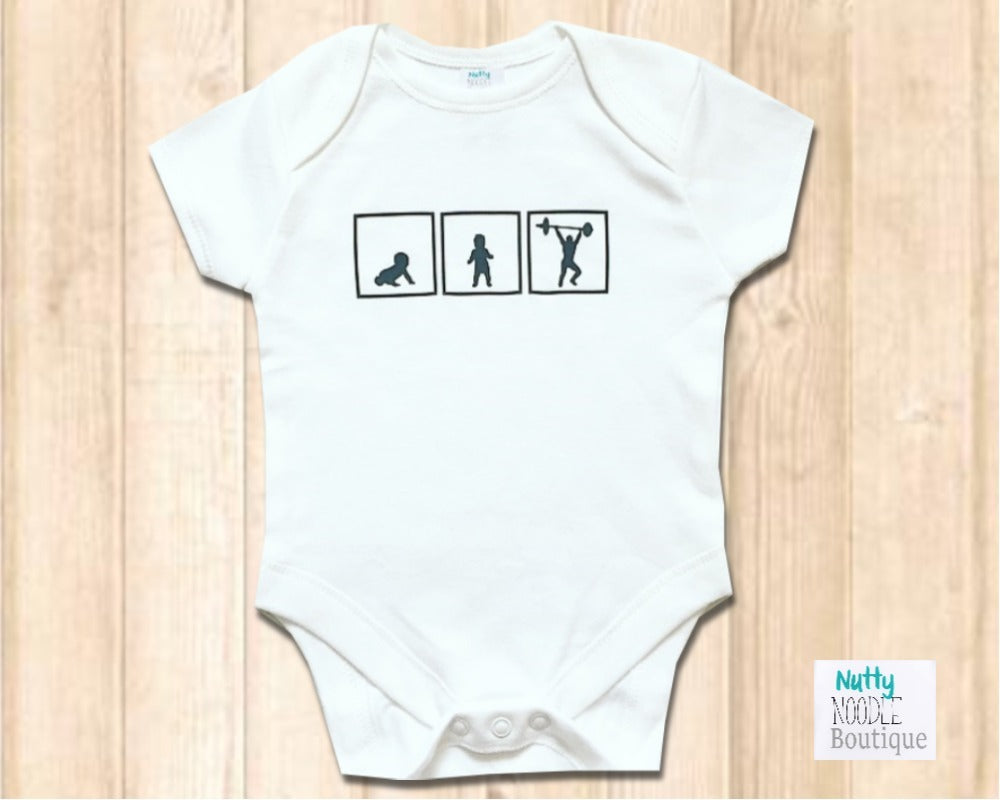 Baby Grow - Crawl, Walk, Weight Lift