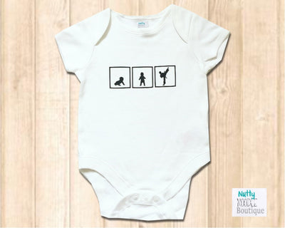 Baby Grow - Crawl, Walk, Martial Arts