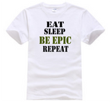 Youth T-Shirt - Eat Sleep Be Epic Repeat