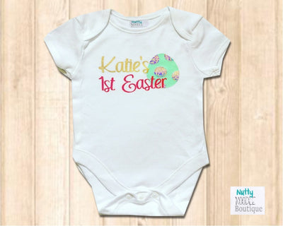 Baby Grow - Personalised Name | 1st Easter