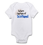Baby Grow - Rugby Theme | Future Captain of Scotland