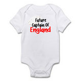 Baby Grow - Rugby Theme | Future Captain of England