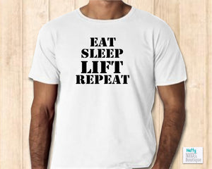 Men's T-Shirt - Eat Sleep Lift Repeat