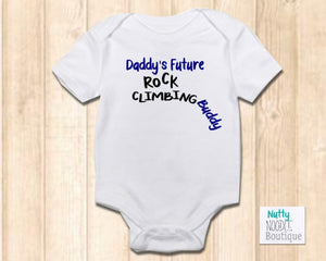 Baby Grow - Daddy's Future Rock Climbing Buddy