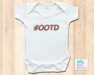 Baby Grow - Holographic #OOTD Slogan