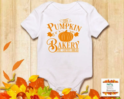 Baby Grow - The Pumpkin Bakery | Fall/Autumn Theme
