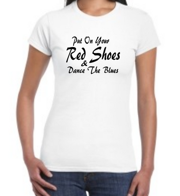 Women's T-Shirt - David Bowie | Let's Dance Lyrics Inspired