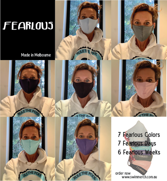 Fearlous - Face Masks - Made in Melb