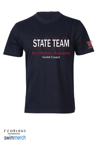 St Hilda's Aquatics 2020 State Team Tee **ORDER NOW** delivered to Club prior to States