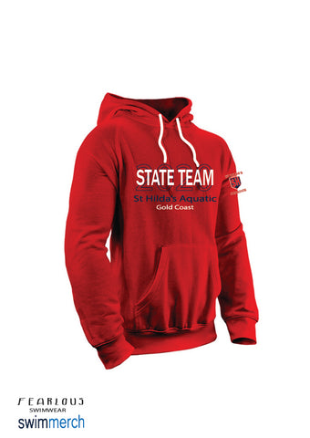 St Hilda's Aquatics 2020 State Team Hoodie**ORDER NOW** delivered to Club prior to States