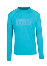 Long Sleeve - Butterfly est 1952 Aqua Marle