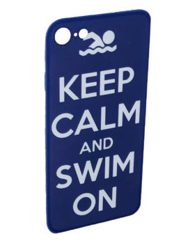 iPhone Cover - Keep Calm and Swim On