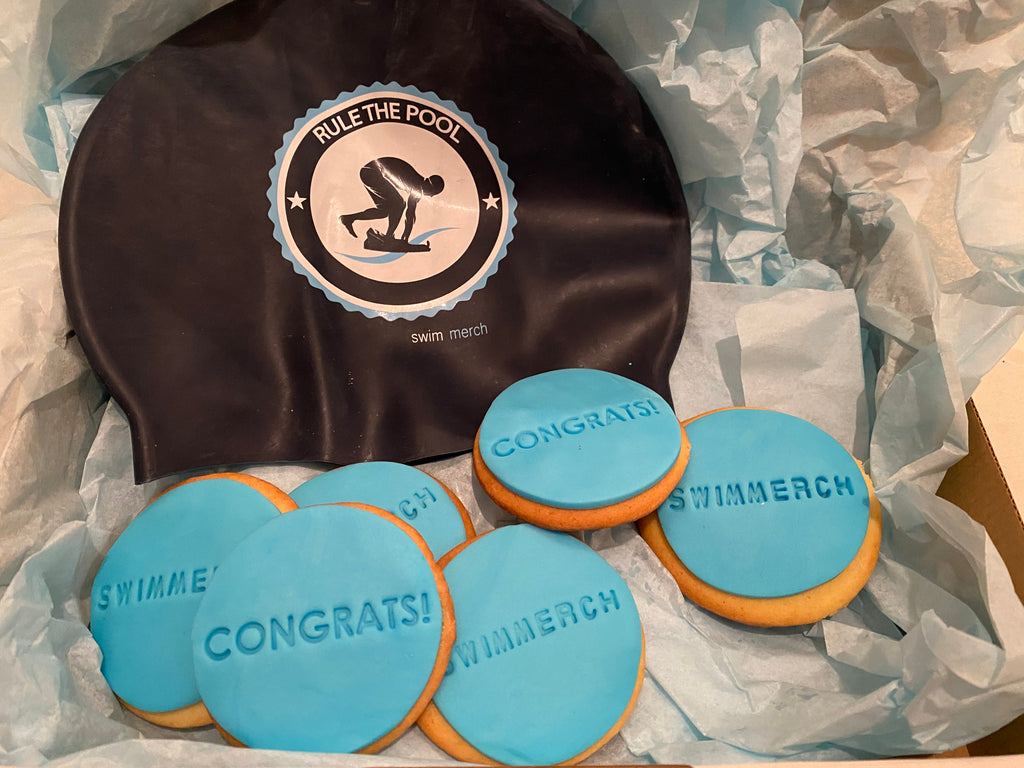 "Gift Box - ""Rule The Pool"" Cookie and Cap Box"