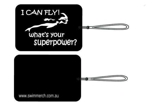 "Bag Tag - ""I CAN FLY"" BACK IN STOCK NOW"