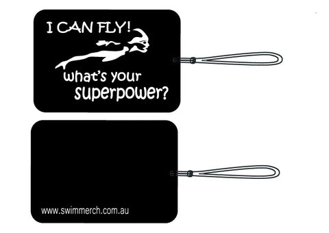 "Bag Tag - ""I CAN FLY"""
