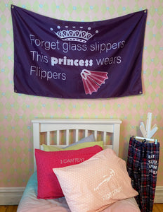 Princess Wears Flippers - Room Flag