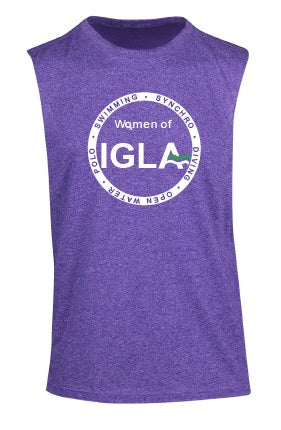 Women of IGLA - Heather Sleeveless Tee