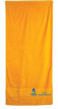 Masters State Championships Towel - Gold