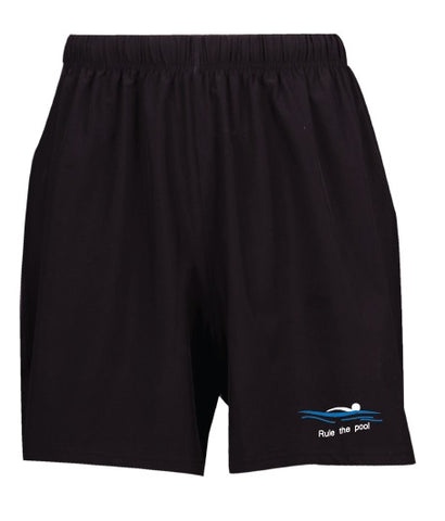 Swimmerch Shorts - Rule the Pool - Kids and Mens - Black