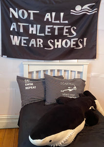 Not All Athletes Wear Shoes - Room Flag