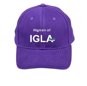 Women of IGLA embroidered cap