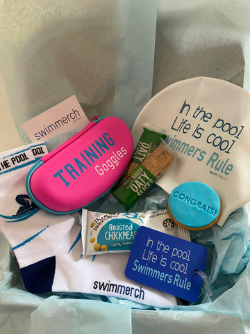 "Gift Box - Training Boost Pink ""Swimmers Rule"""