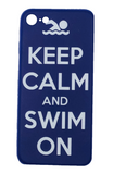 Copy of IPhone Cover - Keep Calm and Swim On
