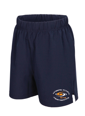 Swimming Victoria Junior Competition Shorts - Size 8K & 14K only