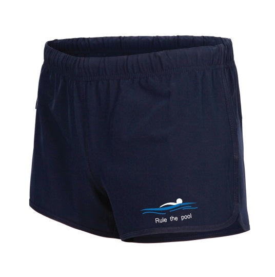 Swimmerch Shorts - Rule the Pool - Womens - Navy