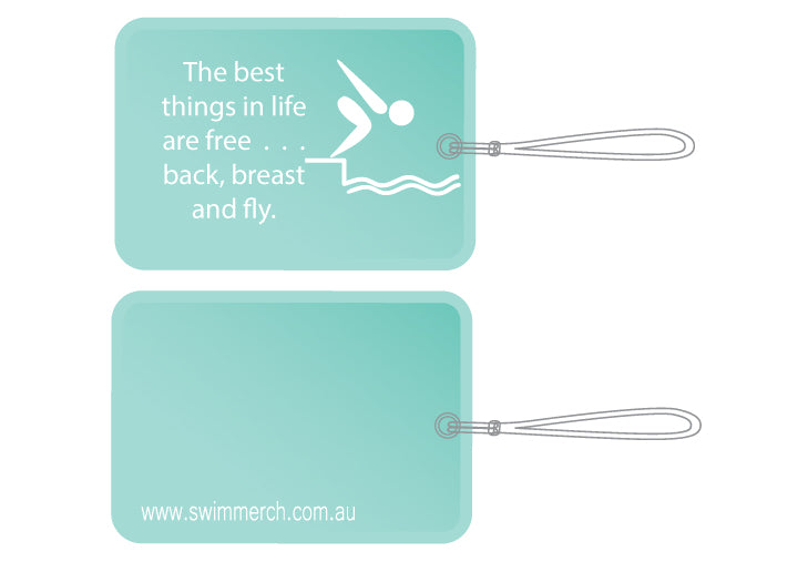 Bag Tag - The best things in life