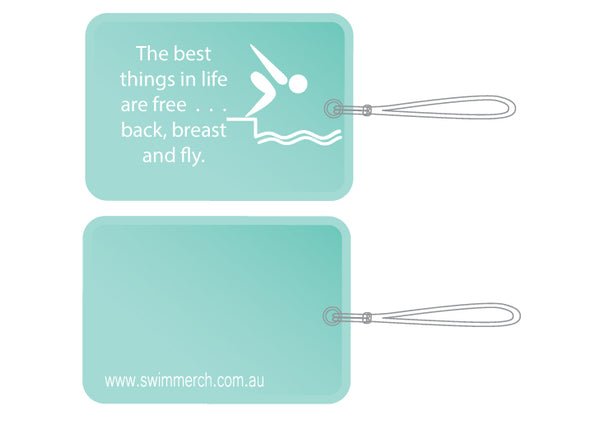 Bag Tag - The best things in life - NEW