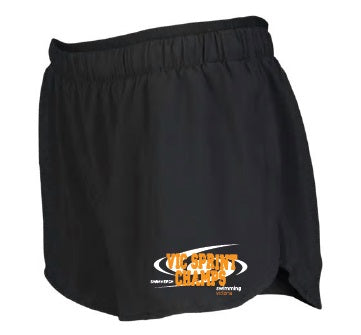 Sprint Champ Shorts - Womens - Black