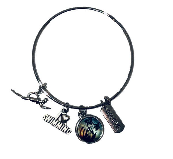 Bangle - Love SWIMMING - Believe - Dream Catcher