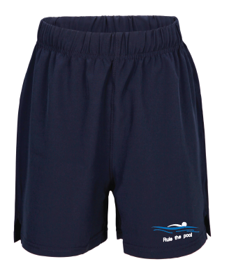 Swimmerch Shorts - Rule the Pool - Kids and Mens - Navy