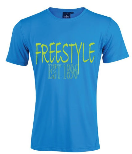 Tee - Freestyle est 1896 - Blue