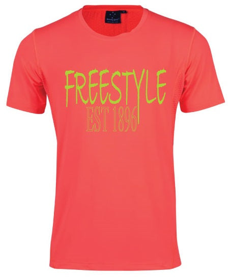 Tee - Freestyle est 1896 - Coral