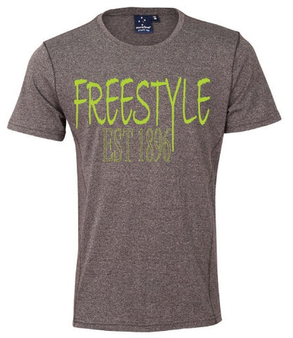 Tee - Freestyle est 1896 Charcoal Marle