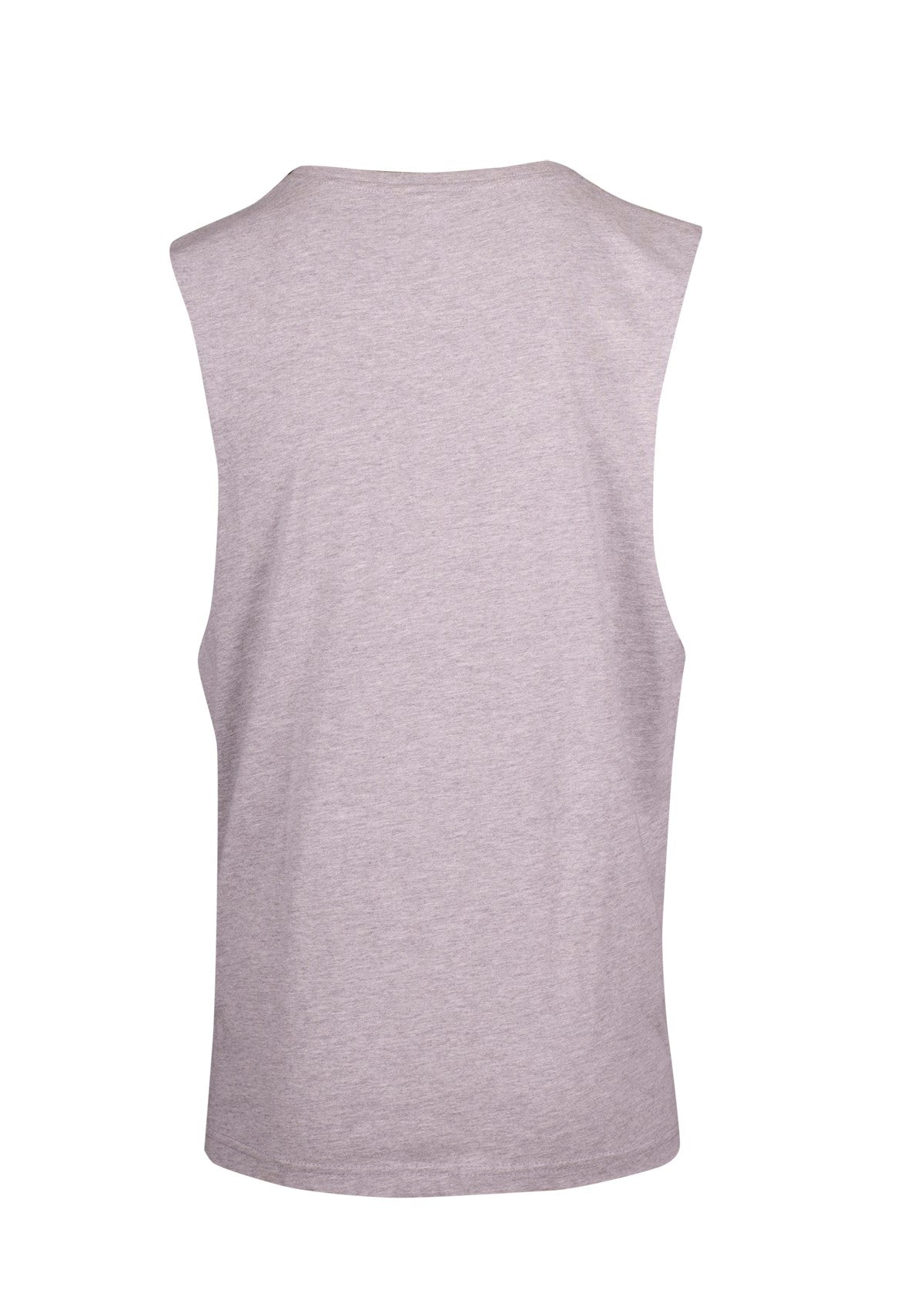Sleepwear sleeveless tee Grey Marle/Black - Eat Sleep Swim Repeat