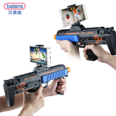 AR Game Gun With Built In Cell Phone Viewing