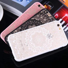Sexy Lace, Floral Henna, iPhone Case | CooliPhoneAccessories