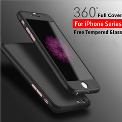 Fully Body Luxury Protection Case With Tempered Glass | CooliPhoneAccessories